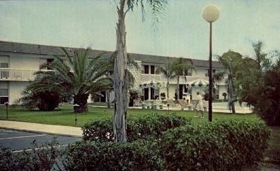 Quality Motel South - Sarasota, Florida FL Postcard