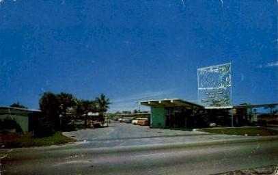 Bon Soir Motel - Fort Lauderdale, Florida FL Postcard