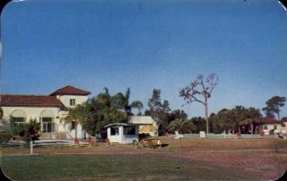 Sarasota Bay Country Club - Florida FL Postcard