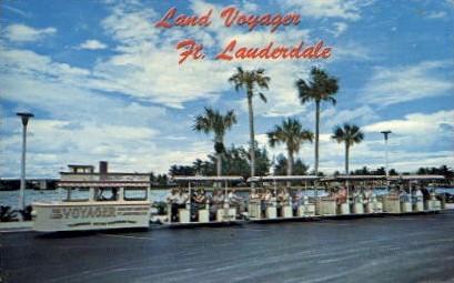 Land Voyager - Fort Lauderdale, Florida FL Postcard
