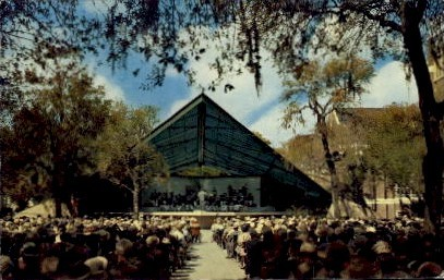 5th Band Shell - St Petersburg, Florida FL Postcard
