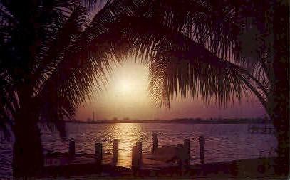 A Beautiful Florida Sunset - Misc Postcard