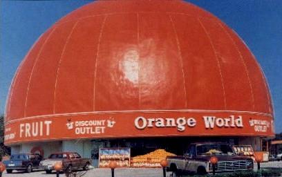 Orange World - Kissimmee, Florida FL Postcard