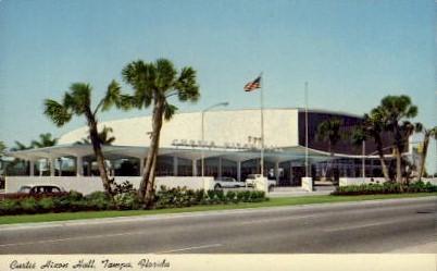 Curtis Hixon Hall - Tampa, Florida FL Postcard