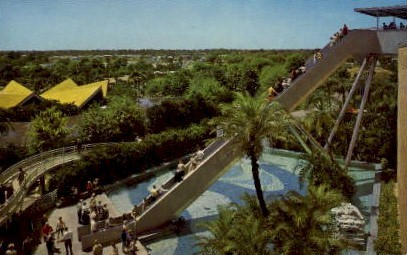 Stairway to the Stars, Busch Gardens - Tampa, Florida FL Postcard