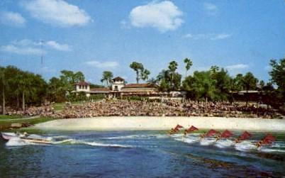 Aquamaids Cypress Gardens - Florida FL Postcard