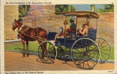 An Old Landmark  - St Augustine, Florida FL Postcard