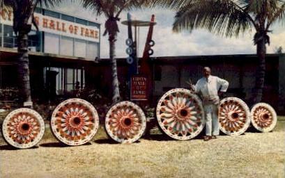 Relics of Bygone Days - Sarasota, Florida FL Postcard