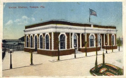 Union Station - Tampa, Florida FL Postcard