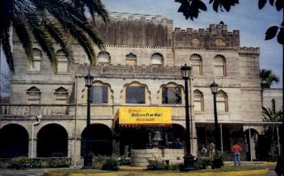 Ripleys Believe it of Not Museum - St Augustine, Florida FL Postcard