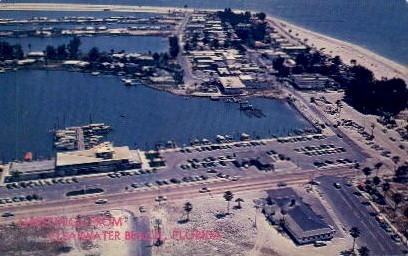 Greetings - Clearwater Beach, Florida FL Postcard