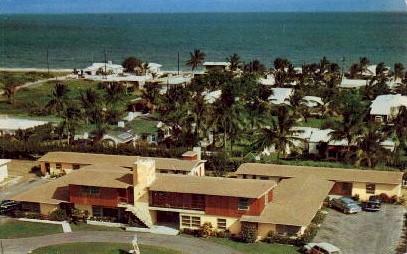 Amber Tides Motel - Fort Lauderdale, Florida FL Postcard