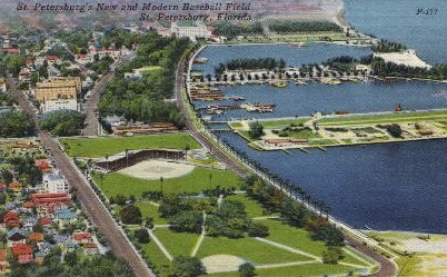 New and Modern Baseball Field - St Petersburg, Florida FL Postcard