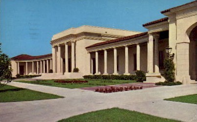 The Museum of Fine Arts - St Petersburg, Florida FL Postcard