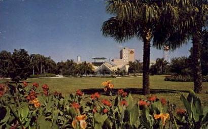 Panorama of Busch Gardens - Tampa, Florida FL Postcard
