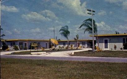 Gulf Terrace Apartments - Sarasota, Florida FL Postcard
