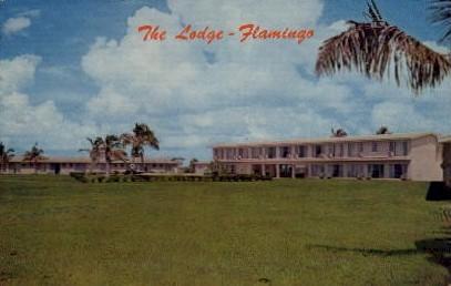 Flamingo Lodge - Everglades National Park, Florida FL Postcard