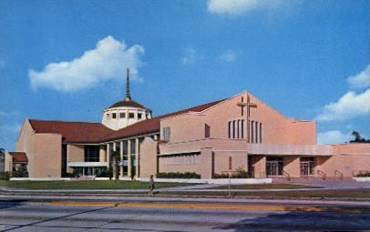 St. Judes Catholic Church - St Petersburg, Florida FL Postcard