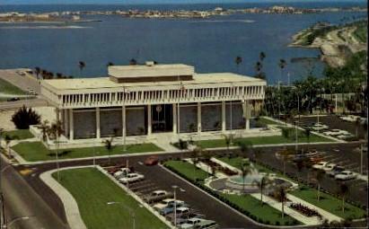 Clearwaters Beautiful City Hall - Florida FL Postcard