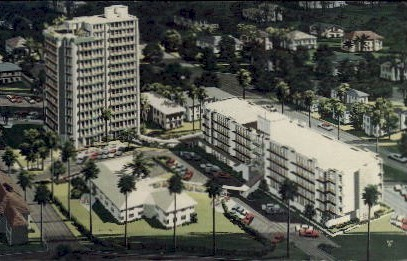 Palm Shores Retirement Center - St Petersburg, Florida FL Postcard
