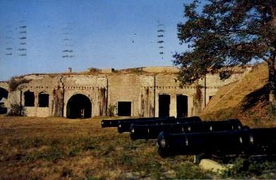 Historic Fort Pickens - Pensacola, Florida FL Postcard