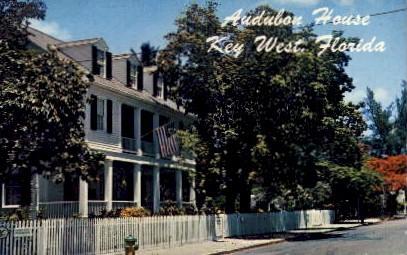 Audubon House - Key West, Florida FL Postcard