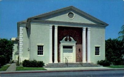 1st Presbyterian Church - Lake Worth, Florida FL Postcard