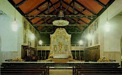 The Roman Catholic Cathedral  - St Augustine, Florida FL Postcard