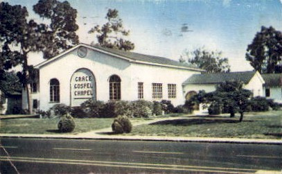 Grace Gospel Chapel - St Petersburg, Florida FL Postcard