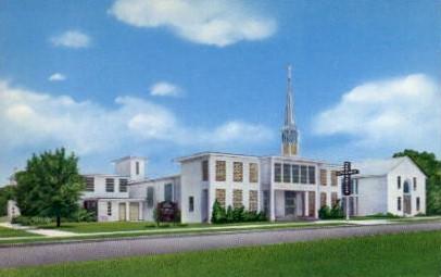 The New Orleans Baptist Church - Tampa, Florida FL Postcard