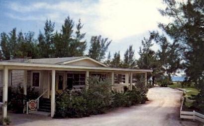 The Nutmeg House - Sanibel, Florida FL Postcard