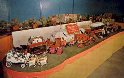 Circus Hall of Fame, Miniature, Wally Smith - Sarasota, Florida FL Postcard