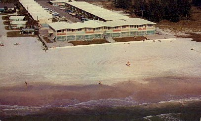 Siesta Royale Apartments, Siesta Key - Sarasota, Florida FL Postcard