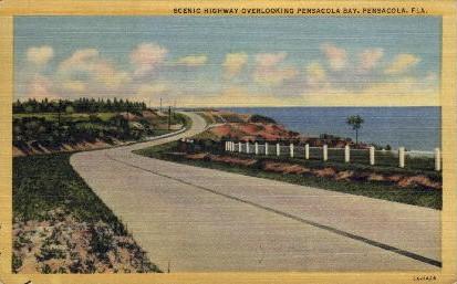 Pensacola - Florida FL Postcard