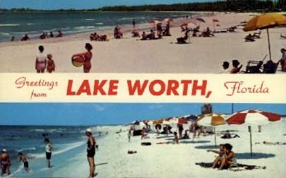 Lake Worth - Florida FL Postcard