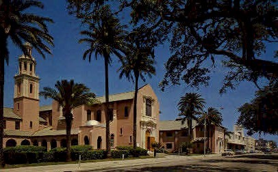 Peace Memorial Church - Clearwater, Florida FL Postcard