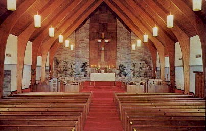 St. James Episcopal Church - Ormond Beach, Florida FL Postcard