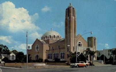 St. N Nicholas Greek Orthodox Church - Tarpon Springs, Florida FL Postcard