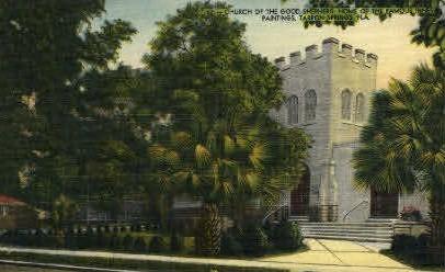 Church of the Good Shepherd - Tarpon Springs, Florida FL Postcard