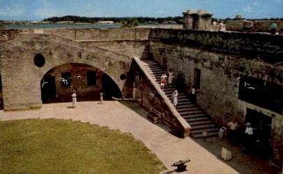 Castillo de San Marcos National Monument - St Augustine, Florida FL Postcard