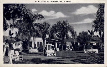 El Rancho  - St Petersburg, Florida FL Postcard