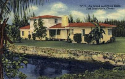 . - Fort Lauderdale, Florida FL Postcard