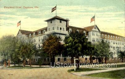 Despland Hotel - Daytona, Florida FL Postcard