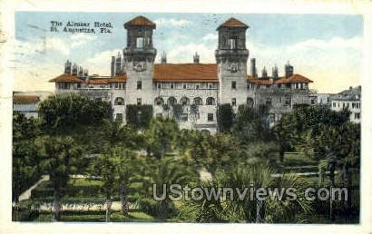 Alcazar Hotel - St Augustine, Florida FL Postcard