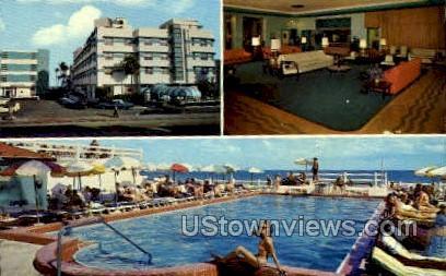 Bancroft - Miami Beach, Florida FL Postcard