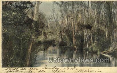 Cypress Gate - Ocklawaha, Florida FL Postcard