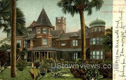 Burgoyne Residence - Daytona, Florida FL Postcard