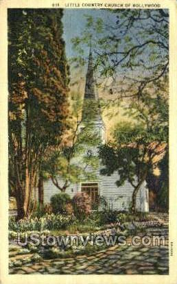 Church - Hollywood, Florida FL Postcard