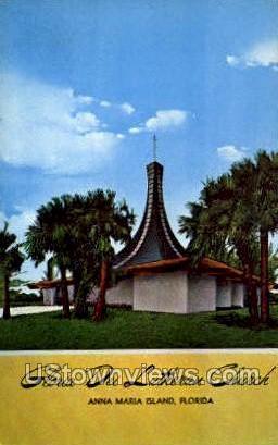 Glorie Dei Lutheran Church - Anna Maria Island, Florida FL Postcard