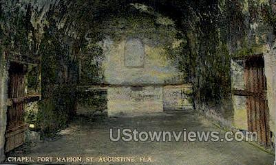 Chapel - St Augustine, Florida FL Postcard